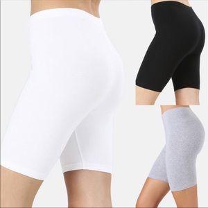 Reg & Plus White Under Short